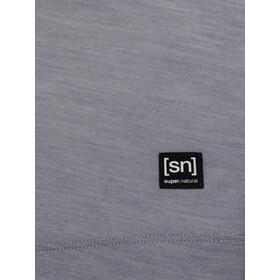 super.natural Isla Camiseta Mujer, silver grey melange